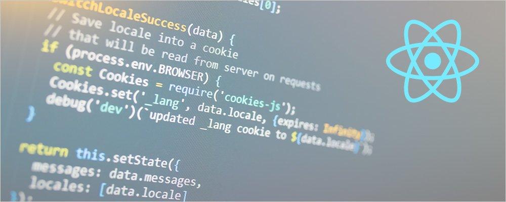 ReactJS code as an example