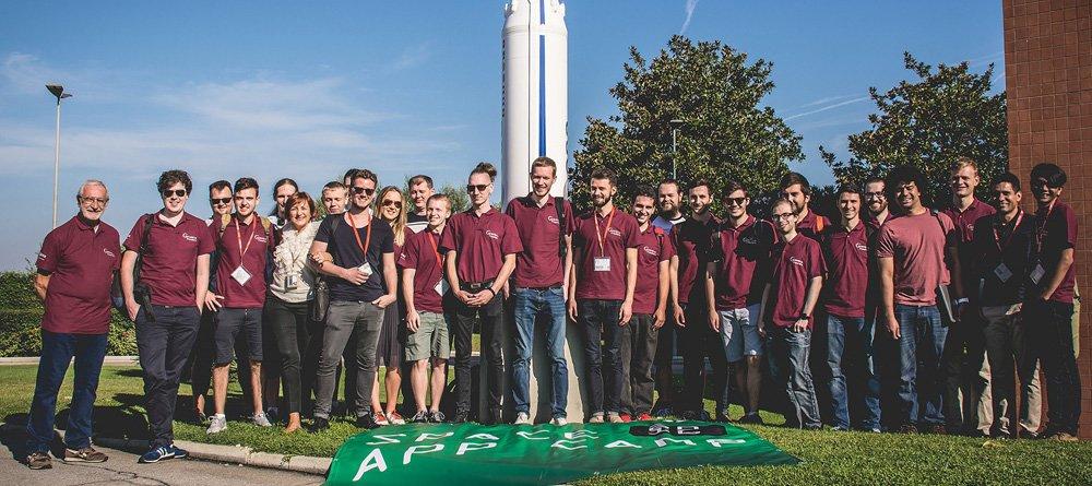 Space App Camp 2016 participants