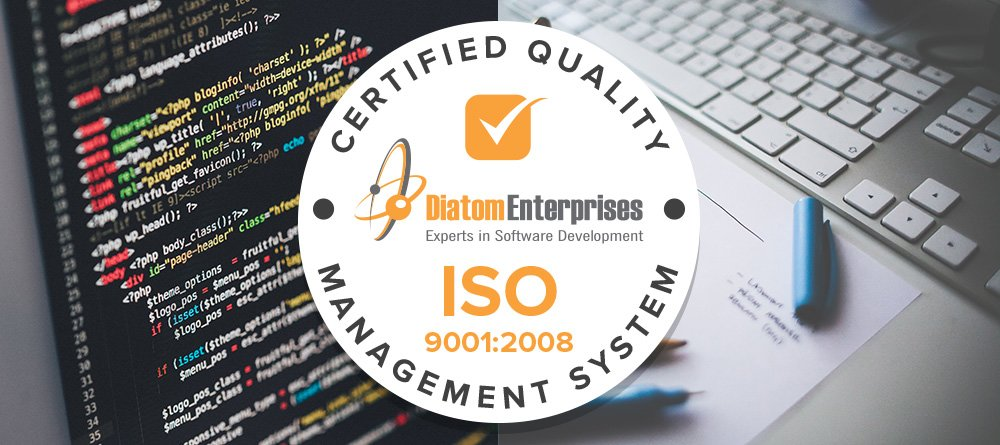 Passing the ISO audit ensures the custom software development services we provide are safe, reliable and of good quality