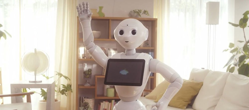 The first humanoid robot Pepper