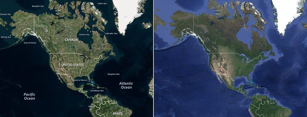 Bing maps/ Google maps