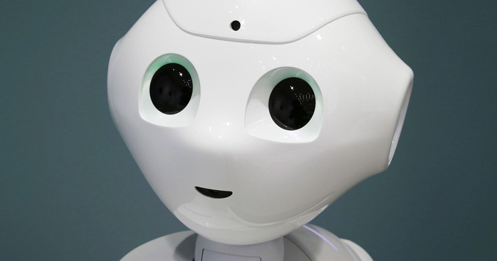 Pepper the Robot's first TV appearance