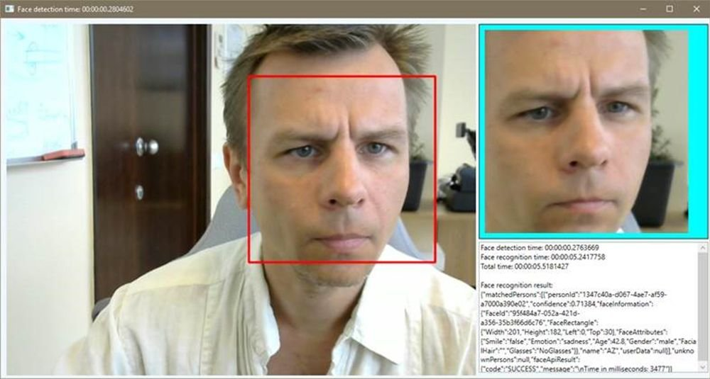 Face detection tool